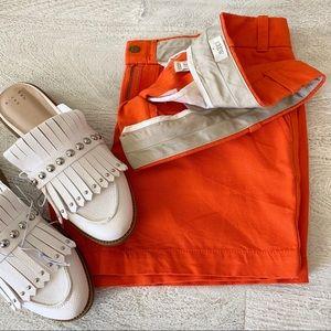 J Crew Orange Shorts - Like New 🍊